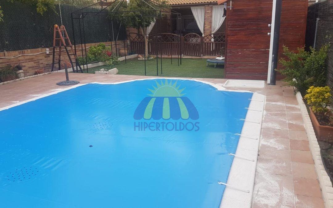 Instalaciones en Piscinas, Cobertor instalado en Arroyomolinos Madrid