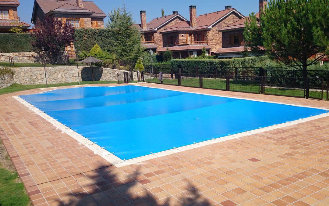 Instalación de cobertores de piscinas
