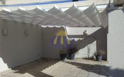 Pérgolas para terrazas y patios
