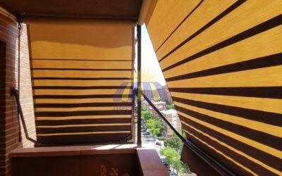 Toldos de punto recto, ideal para balcones y ventanas – Hipertoldos 2019