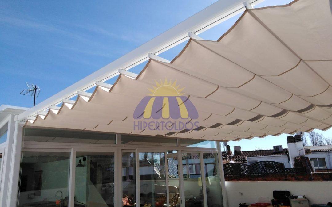 Una pérgola de calidad para su terraza – Aravaca, Madrid – Hipertoldos 2019
