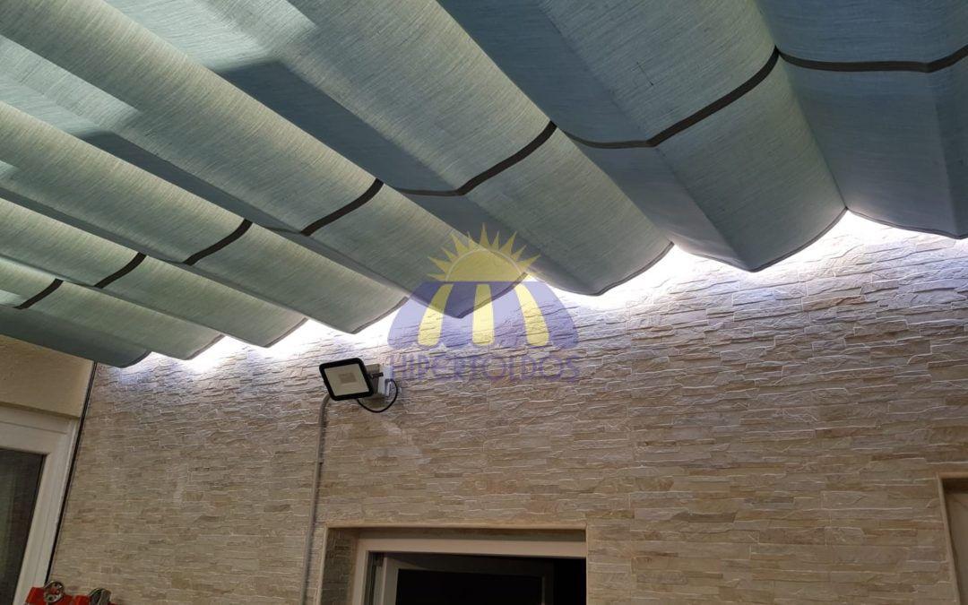 Instalación de pérgola 4 x 6 mts. en Carabanchel, Madrid – Hipertoldos 2019