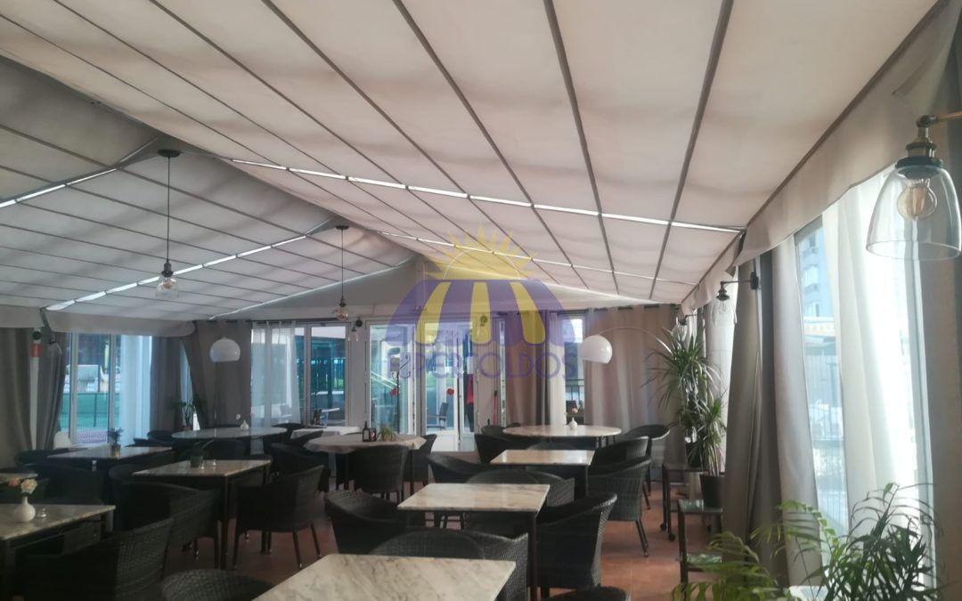 Restaurantes de Madrid confían en Hipertoldos para mejorar la estética de sus terrazas