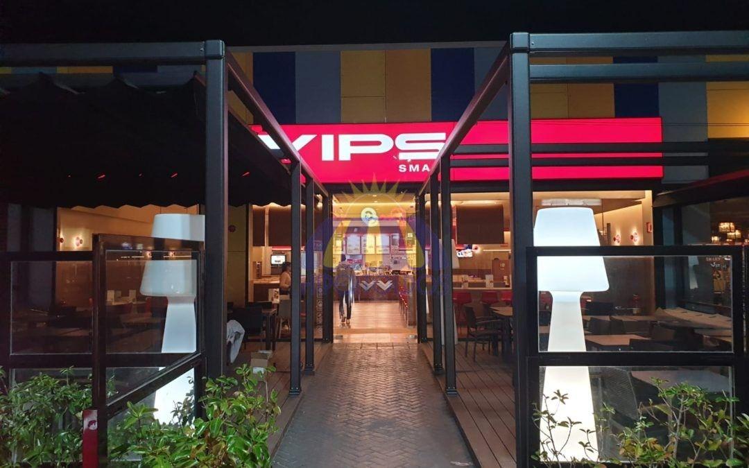 Restaurantes como el VIPS de Valdemoro confían en HIPERTOLDOS