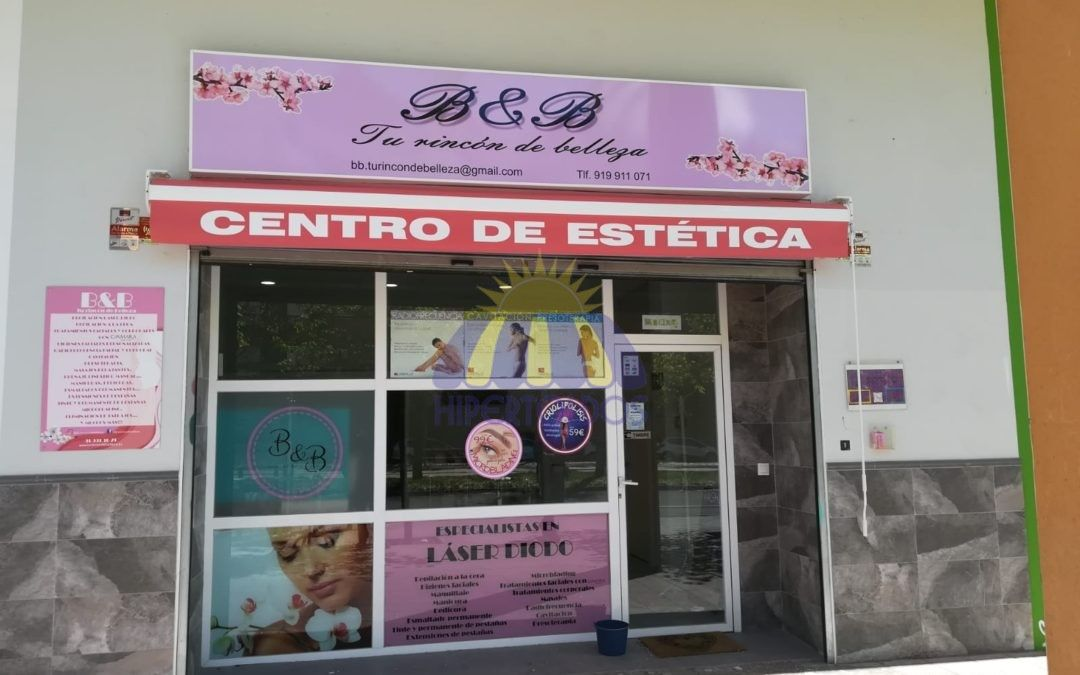 Instalación de toldos para comercios, toldos en Madrid