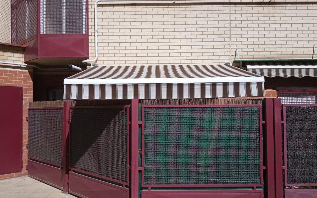 Instalación de toldo extensibles en Las Rozas – Madrid 2019