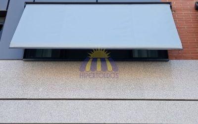 Toldos portada para ventanas – Instalación en Getafe 2019
