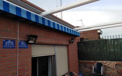 Pérgolas para terrazas, instalación en Madrid