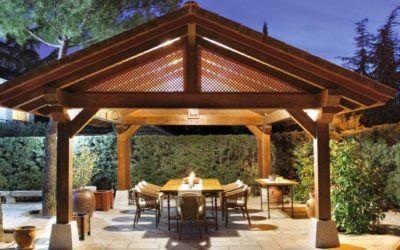 Cenadores: un espacio ideal para nuestro jardín